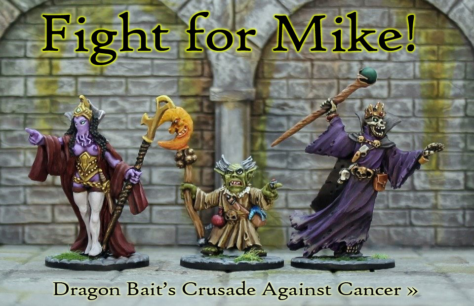 Fight for Mike!  Dragon Bait's Crusade Against Cancer
