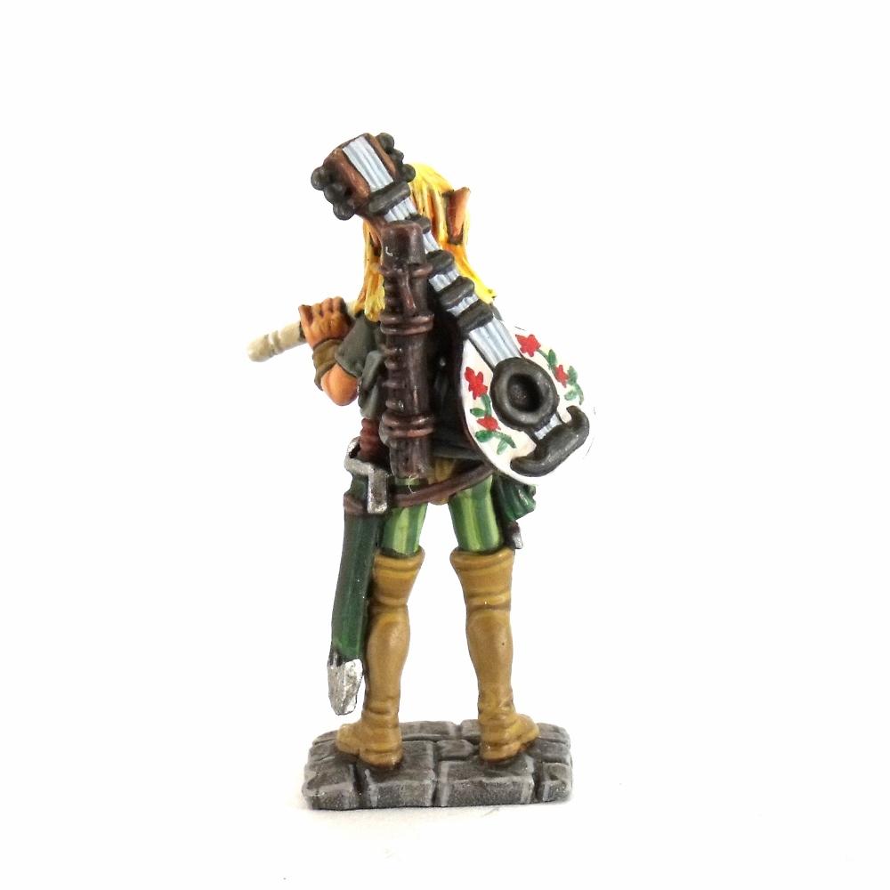 Elf Bard Dragon Bait Miniatures